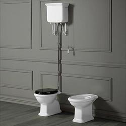 Old England Cambridge High Level Toilet
