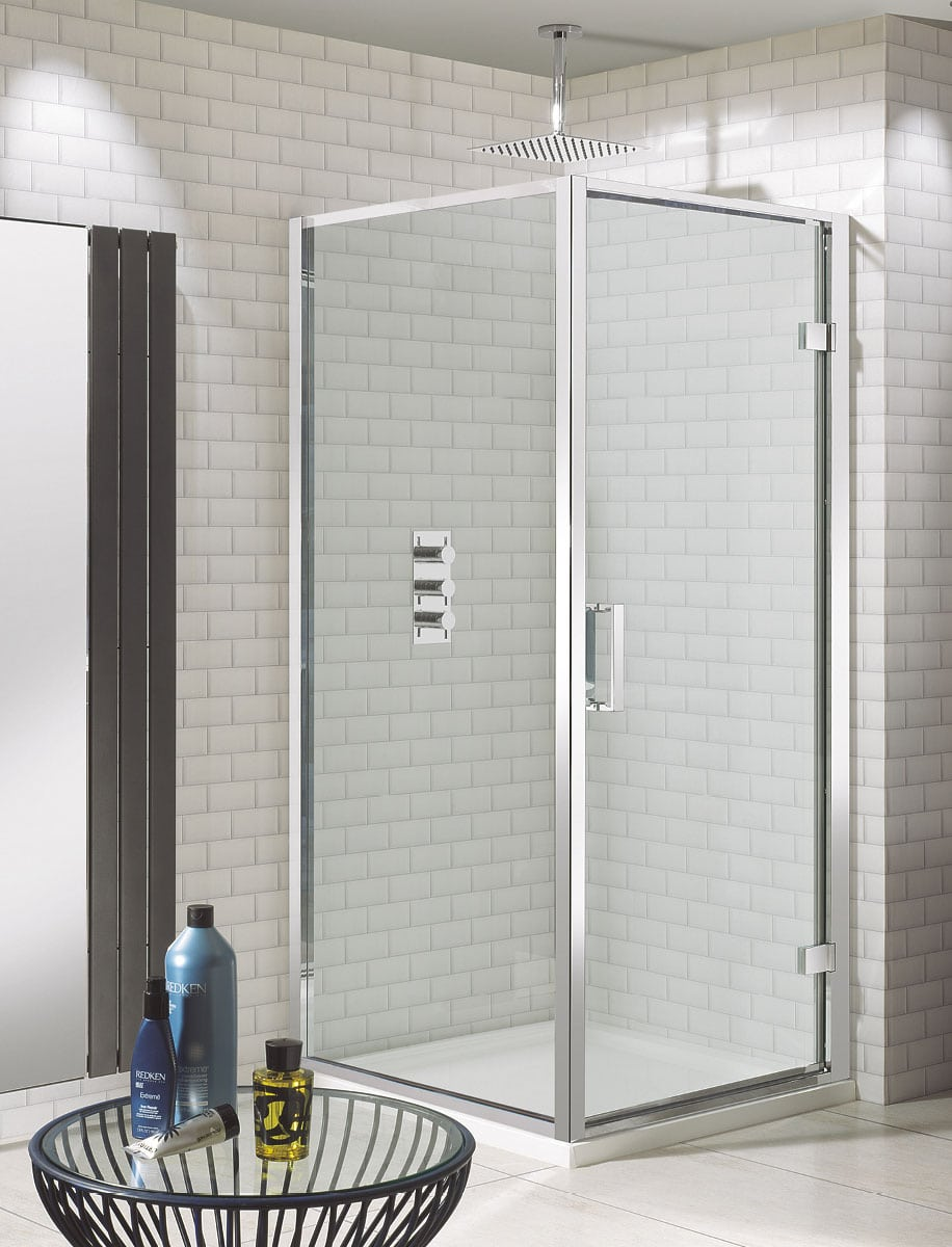 Crosswater Elite Hinged Shower Door