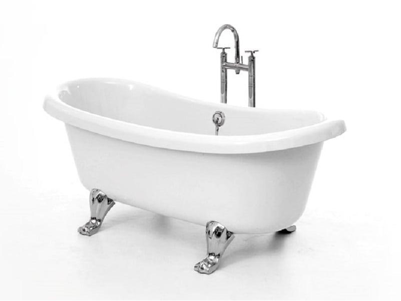 High Quality Acrylic Roll Top Bath Tub