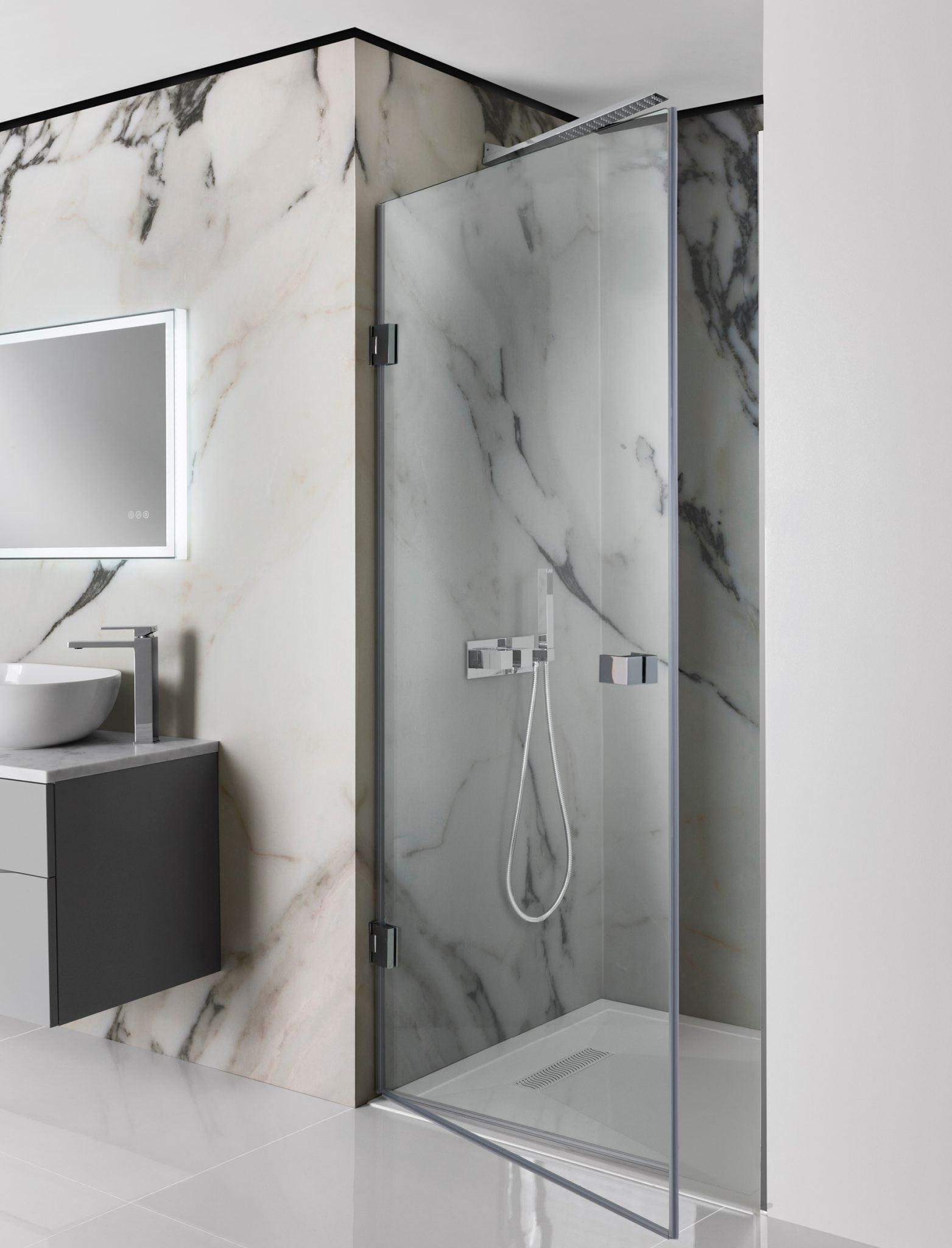 Crosswater Zion Hinged Shower Door