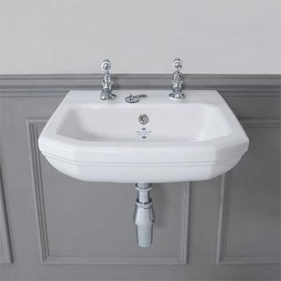 Empire Art Deco 450mm Cloakroom Basin