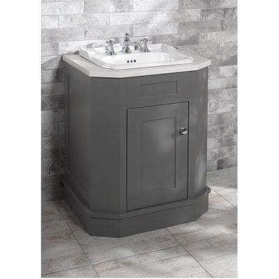 Balasani 700mm Grey Cabinet with 520 Inset Basin