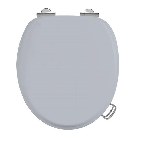 Burlington Soft Close Classic Grey Toilet Seat 2 Year