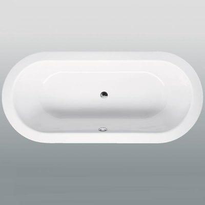 Bette Starlet Oval Luxury Steel Bath
