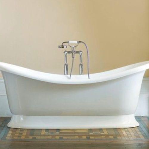 Marlborough double-ended slipper bath