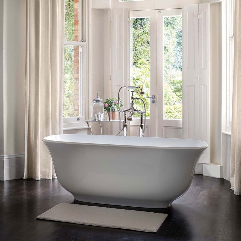 Victoria Albert Amiata Double Ended Bath By Old Fashioned