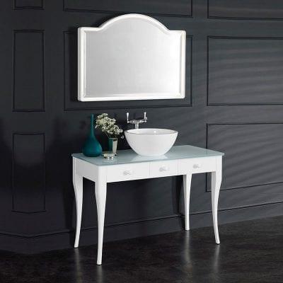 Victoria + Albert Bosa 112 Glass Vanity Unit