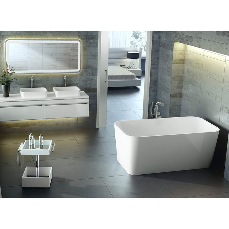 Victoria Albert Edge Compact Double Ended Bath By Old
