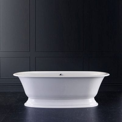 Victoria + Albert Elwick Double Ended Roll Top Stone Bath