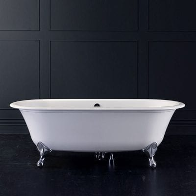 Cast Iron Double Ended Bath 1700mm By Old Fashioned