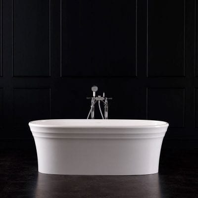 Victoria + Albert Warndon Double Ended Stone Bateau Bath
