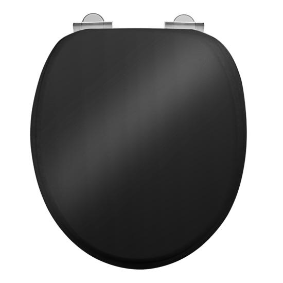 Burlington Soft Close Toilet Seat - Gloss Black