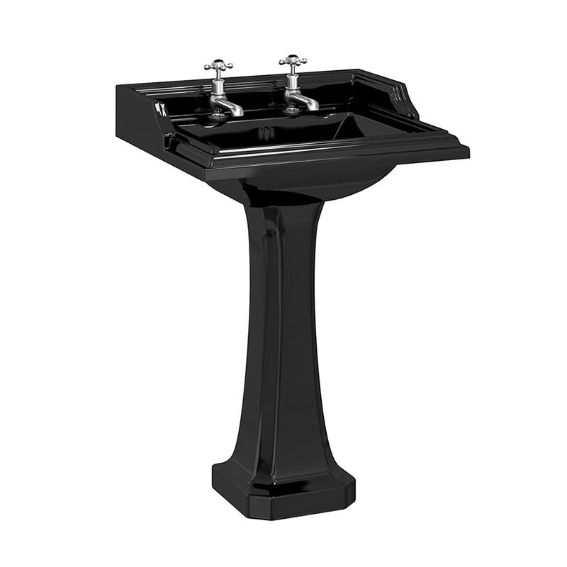 traditional-burlington-jet-black-classic-65cm-basin-and-classic-pedestal