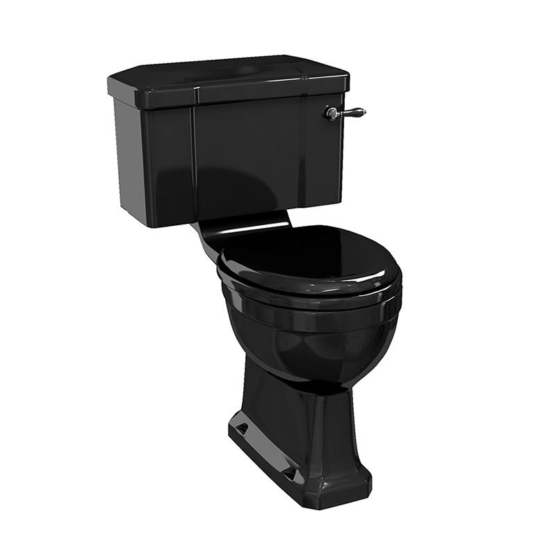 traditional-burlington-jet-black-close-coupled-wc-with-lever-flush