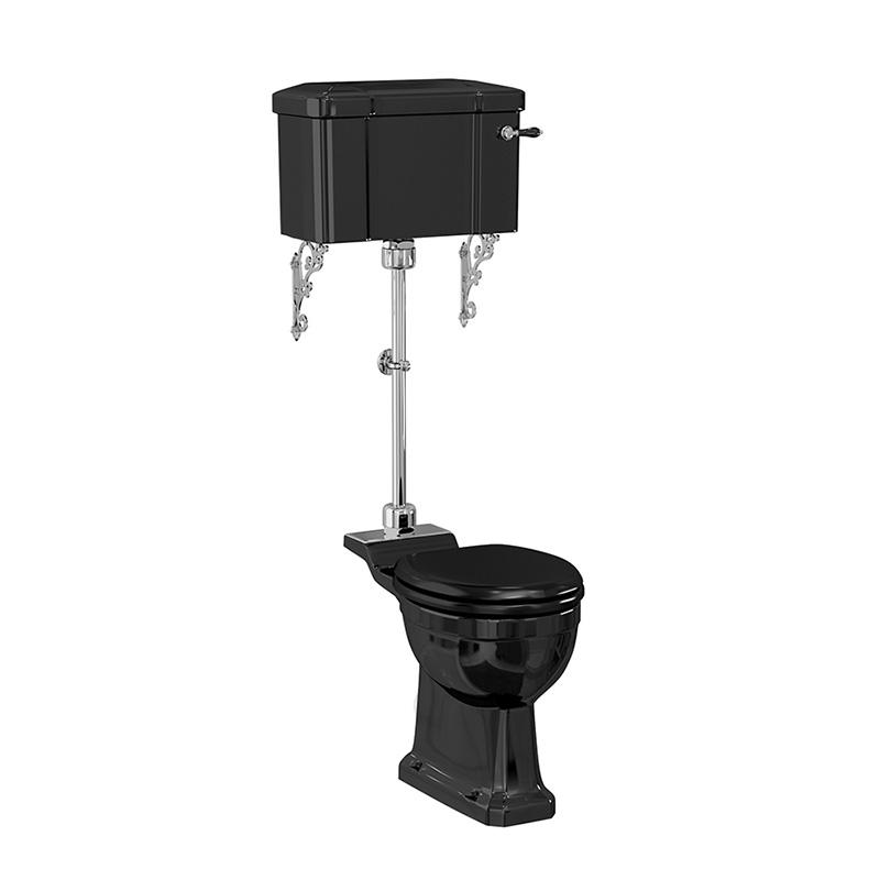burlington-jet-black-standard-medium-level-wc-with-520-lever-cistern