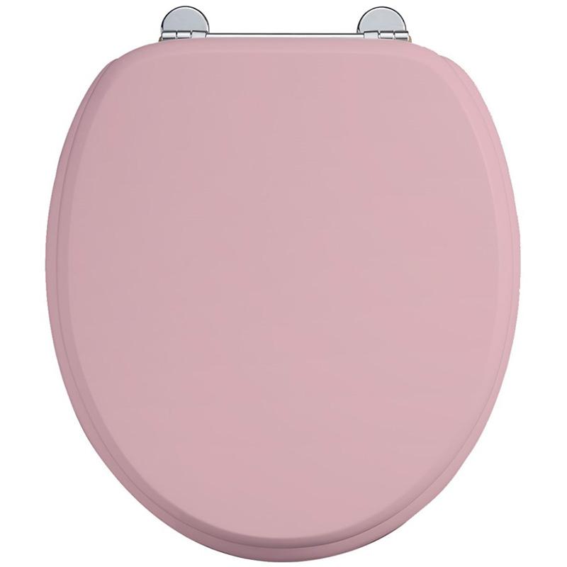 Burlington Soft Close Toilet Seat - Confetti Pink