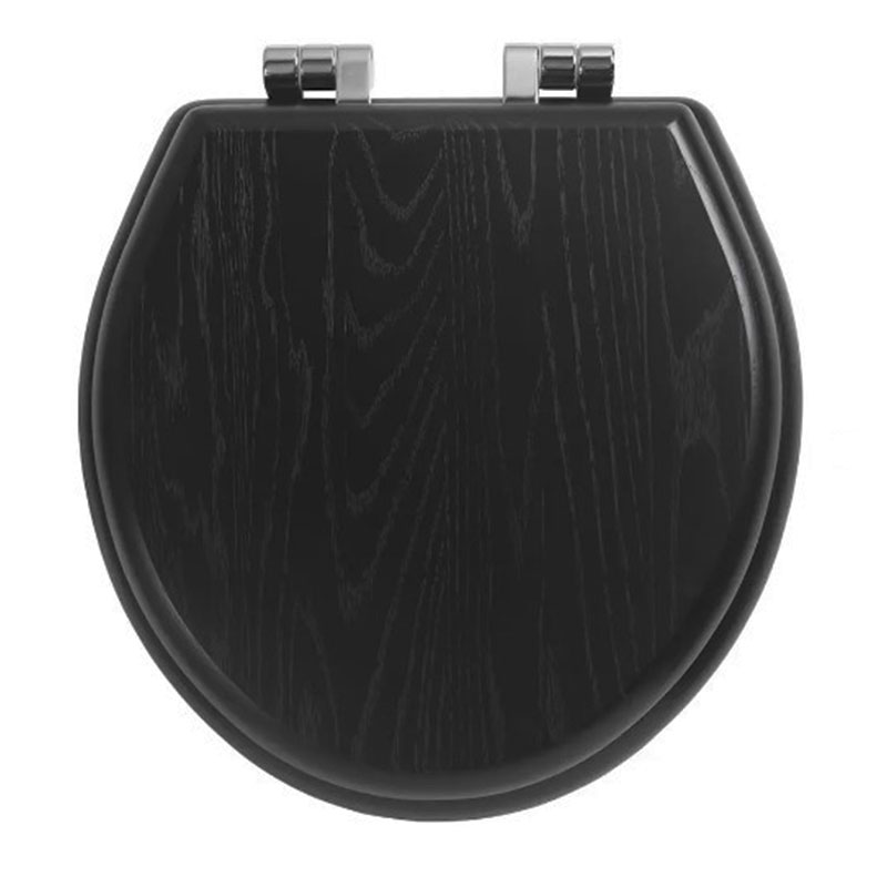 Traditional-Windsor-solid-wood-toilet-seat-with-soft-close-hinges