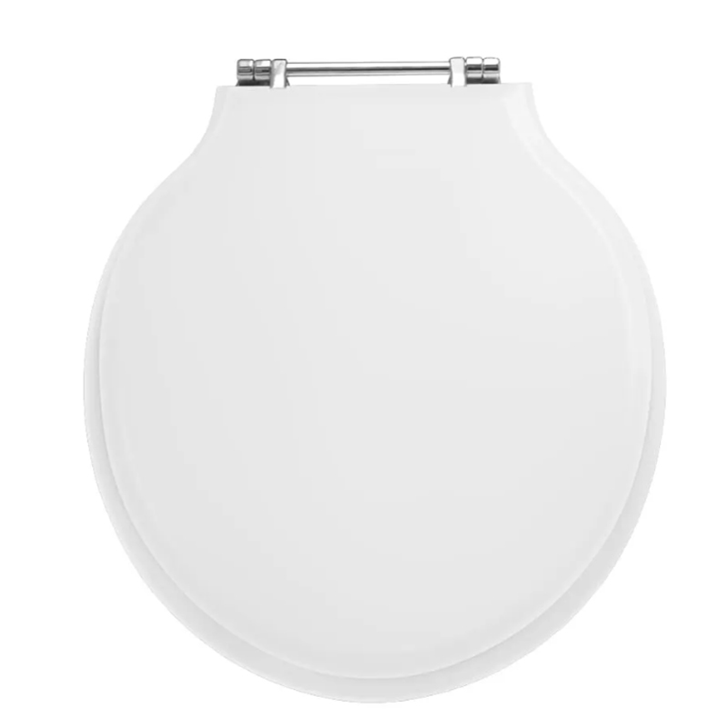 traditional Etoile Painted Toilet Seat with Standard Hinge