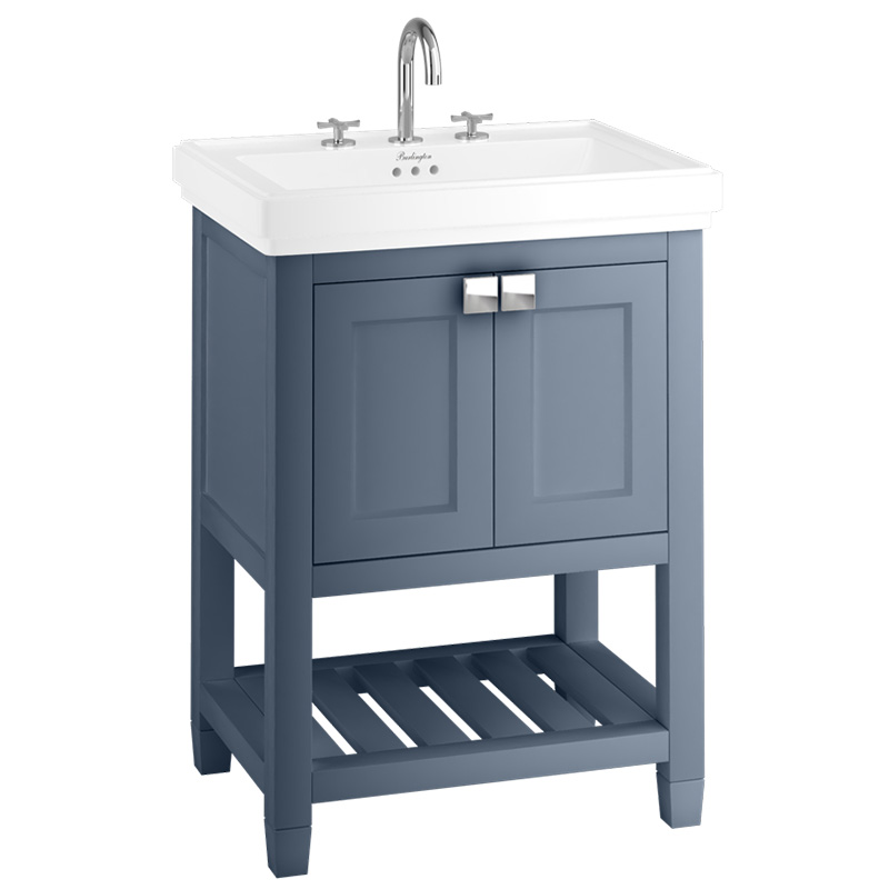 Riviera 650mm Vanity Unit With Riviera 650mm Square Basin Ofb